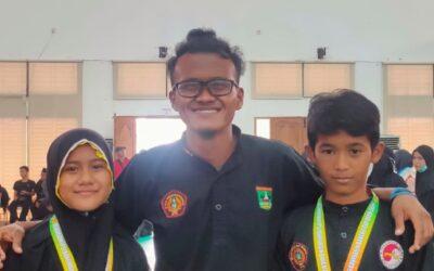 MTsN 3 Kota Padang Raih 1 Emas dan 1 Perunggu Pada Kejuaraan Pencak Silat Terbuka di Banyuasin Sumatera Selatan