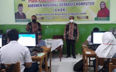 Pelaksanaan ANBK MTsN 3 Kota Padang